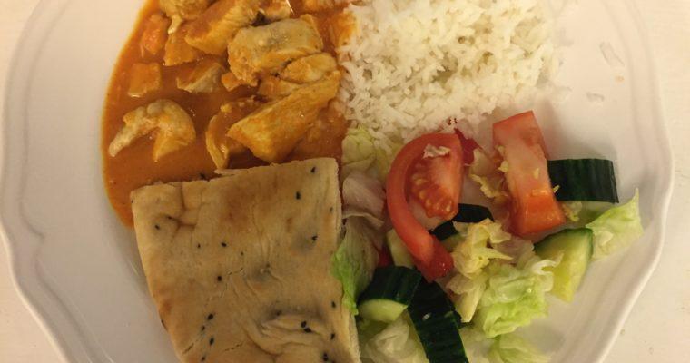 Kyllinggryte med kokos og curry